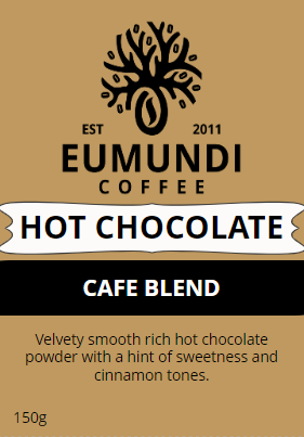 Eumundi Coffee Hot Choc Cafe Blend